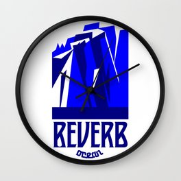 Reverb Ocean Wall Clock