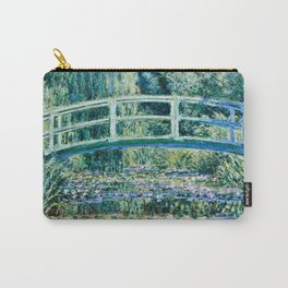 Claude Monet - Water Lilies And Japanese Bridge Carry-All Pouch