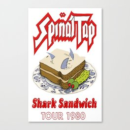 Spinal Tap - Shark Sandwich Tour 1980 Canvas Print