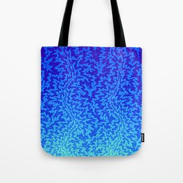 Fractal Gradient WATER Tote Bag