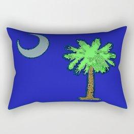 Fancy Flag:  South Carolina Rectangular Pillow