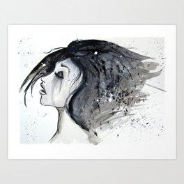 crying Art Print