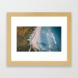 Fresh to Depth Framed Art Print