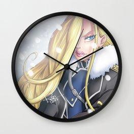 Olivier Mira Armstrong - Fullmetal Alchemist Brotherhood Wall Clock