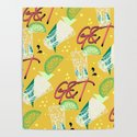 Give Me G&T by minniemorrisart