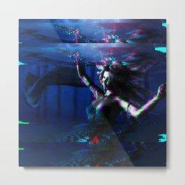 Under water beauty Metal Print