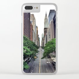 E 42nd St. Clear iPhone Case