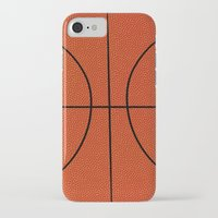 basketball iPhone & iPod Cases featuring Basketball by An Luong