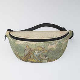 Women Picking Olives Fanny Pack