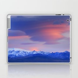 Lenticular clouds over Sierra Nevada National Park Laptop & iPad Skin