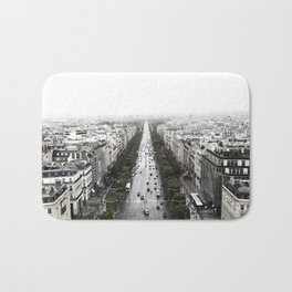 The Avenue des Champs-Elysees Bath Mat