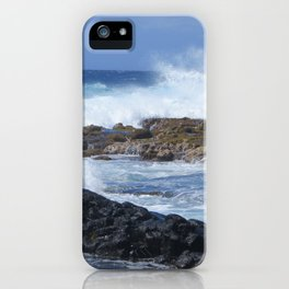 The Blue Earth iPhone Case