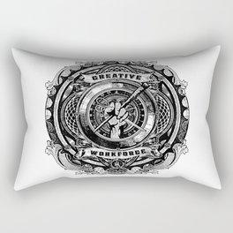 creative work force Rectangular Pillow