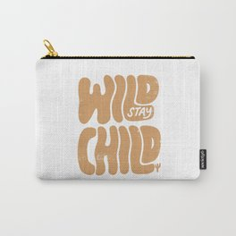 Stay Wild Vintage Desert Carry-All Pouch