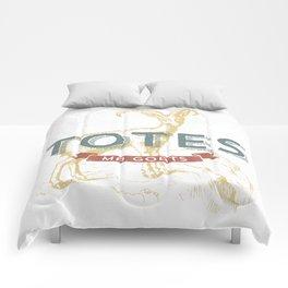 Totes Ma Goats Comforters
