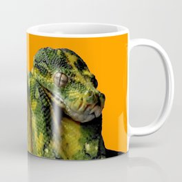 Green Tree Python Coffee Mug