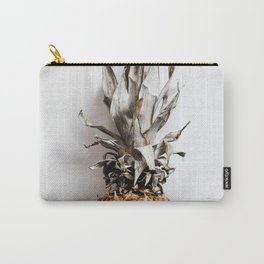 WHOLE - PINEAPPLE - ON - WHITE - MARBLE - SURFACE - PHOTOGRAPHY Carry-All Pouch