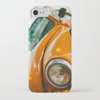 volkswagon iPhone & iPod Cases featuring Buggin' out by dnlamria