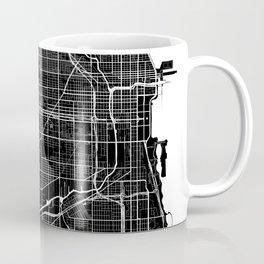 Chicago - Minimalist City Map Coffee Mug