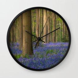 Hallerbos 4 Wall Clock