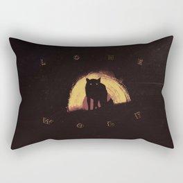 Lone Wolf Rectangular Pillow