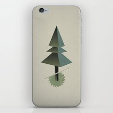 Triangle Tree iPhone & iPod Skin