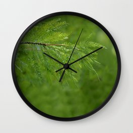 After The Morning rain Wall Clock