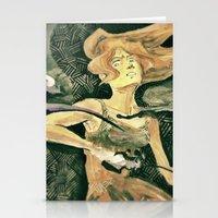 the legend of korra Stationery Cards featuring Korra by NastyaWait