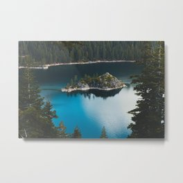 Fannette Island in Emerald Bay - Lake Tahoe, California Metal Print