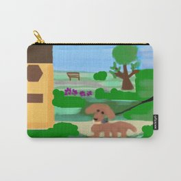 Have you walked your dog today? Carry-All Pouch