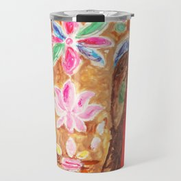 Painted Elephant Travel Mug
