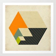 CUBES (15) Art Print