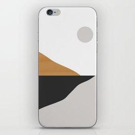Minimal Art Landscape iPhone Skin