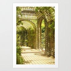 Gardens of Versailles Art Print