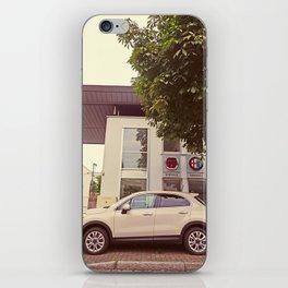 "Fiat 500X ""The Perturbator"" iPhone Skin"