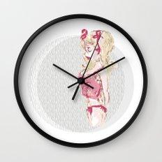 Blondy Girl Wall Clock