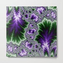 Cosmic Leaves Metal Print