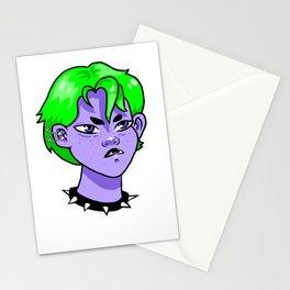 punkgrrrrl Stationery Cards