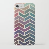 ikat iPhone & iPod Cases featuring Chevron iKat by Steven Womack