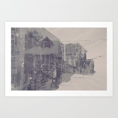 over and over Art Print