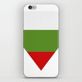 Bulgarian flag iPhone Skin
