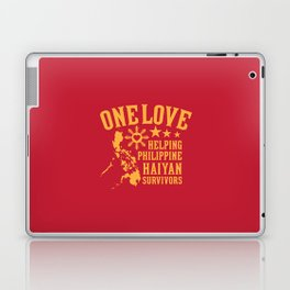 HAIYAN FUND RAISER Laptop & iPad Skin