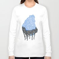 hologram Long Sleeve T-shirts featuring Has 6 Legs by Atlan