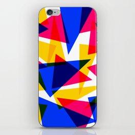 CMYK Shard iPhone Skin
