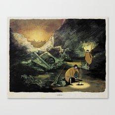 World At War - 'Cookout' Canvas Print