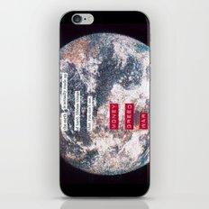 The Earth War  iPhone & iPod Skin