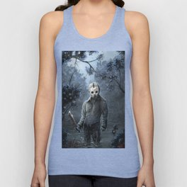 crystal lake Unisex Tank Top