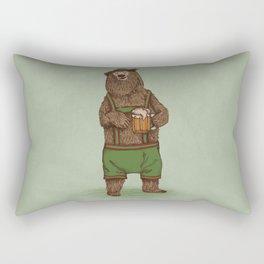 Traditional German Bear Rectangular Pillow