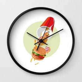 Corne d'abondance Wall Clock