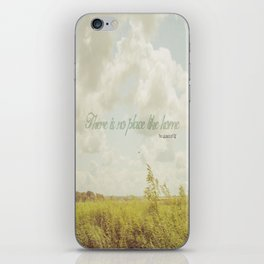 There is no place like home -The Wizard Of OZ iPhone Skin
